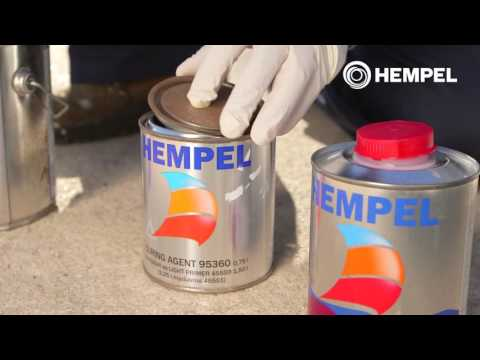 How to apply Hempel's Light Primer ES 2016