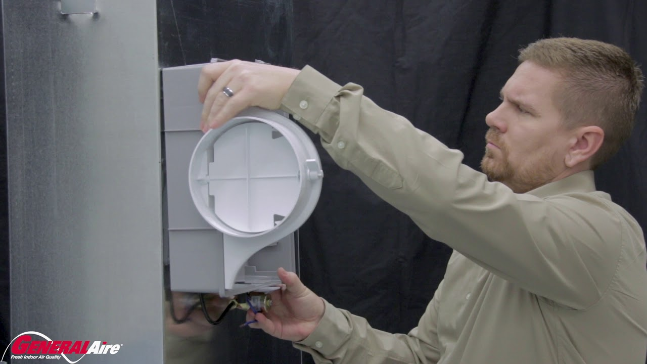 installing a generalaire elite 570m humidifier video library general filters inc  [ 1280 x 720 Pixel ]