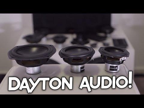 DAYTON AUDIO ND140, ND105 & ND91 FREE AIR!
