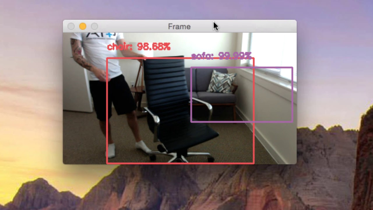 Real-time object detection with deep learning and OpenCV