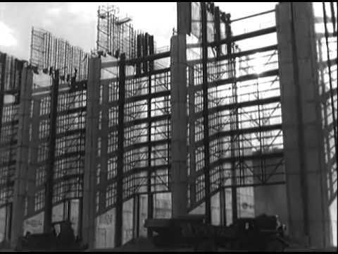 Волжская ГЭС (стройка, фрагмент)
