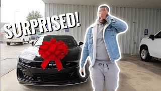 SURPRISING MY HUSBAND WITH HIS DREAM CAR!! *HE COULDN'T BELIEVE IT**