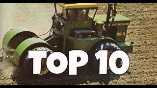 TOP 10 BIGGEST TRACTORS OF 1970!