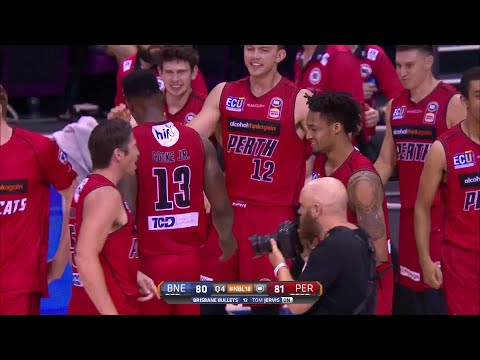 Brisbane Bullets vs. Perth Wildcats - Game Highlights