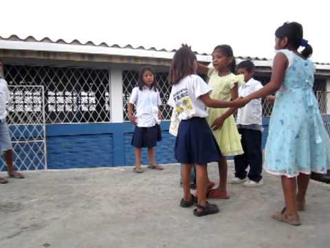 Recess Game at the Panama School in Nicaragua
