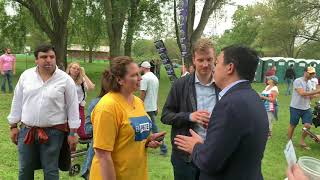 Andrew Yang Is Giving A Freedom Dividend (UBI) To An Iowan Caring For A Mom Recovering From Cancer