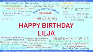 Lilja   Languages Idiomas - Happy Birthday