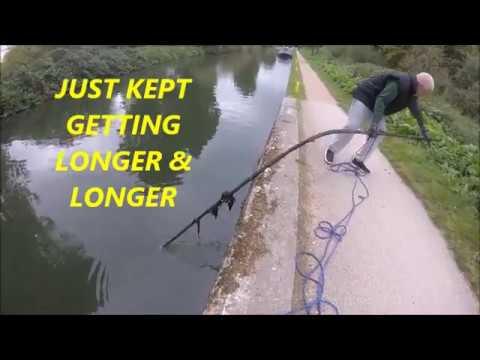 Using A 200 kg Pull, Neodymium Magnet ,Bikes, Lock Handles , magnet fishing