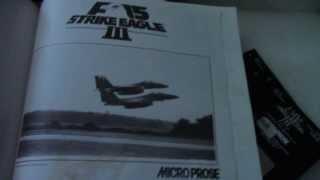 F-15 STRIKE EAGLE III (Retro Unboxing PC)