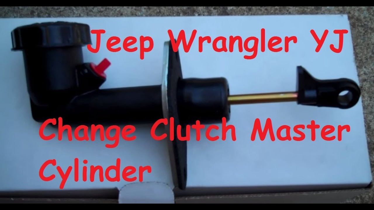 jeep wrangler clutch master cylinder change out [ 1280 x 720 Pixel ]