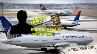 Lawyer exposes self on flight