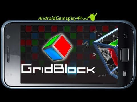 GridBlock™ Android Game Gameplay [Game For Kids]