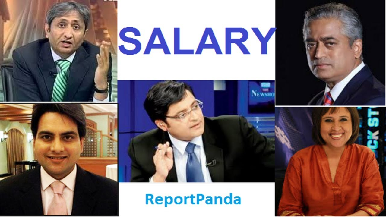 Salary of India's Top 5 highly paid TV journalists list | Highest Paid  India's News Anchor