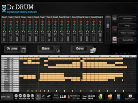Drum beat maker software