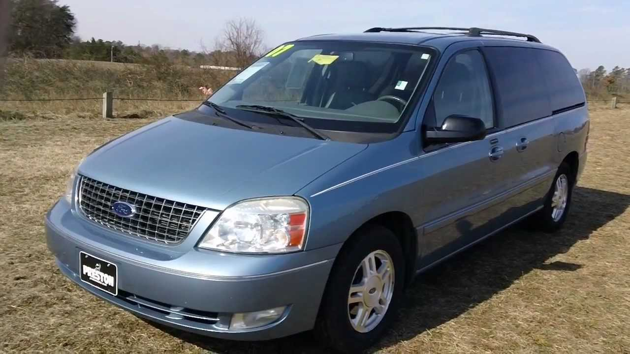 Used Car For Sale Maryland 2007 Ford Freestar Mall Assault