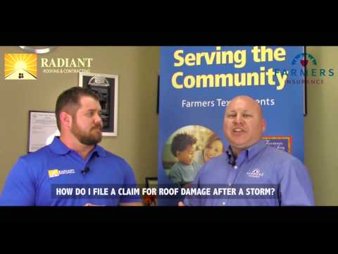 How to file a claim for roof damage after a storm