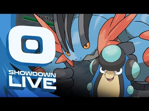 """THE PALPITOAD MEGA SWAMPERT CORE"" Pokemon Sun & Moon! OU Showdown Live w/PokeaimMD"