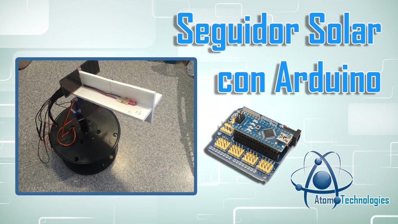 Arduino Planet Tracker Mobile Solar Power Plant Make Seguidor Solarchargerschematicjpg Diy Youtube