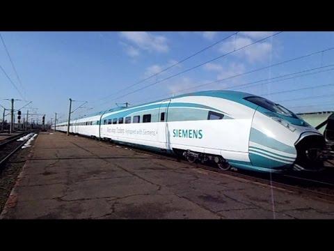 Siemens Velaro prin Rosiori Nord