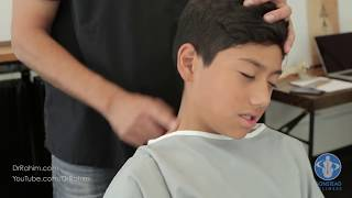 Download Video Soccer Player with Stuck Neck and Pain gets HELPED with Dr. Rahim Gonstead Chiropractor MP3 3GP MP4