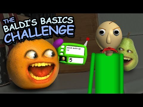 Annoying OrangeBaldis Basics Challenge