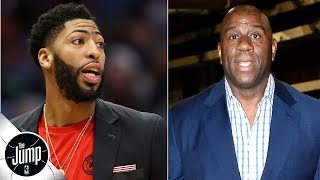 Magic Johnson should throw 'the whole kitchen sink' at Anthony Davis - Byron Scott | The Jump