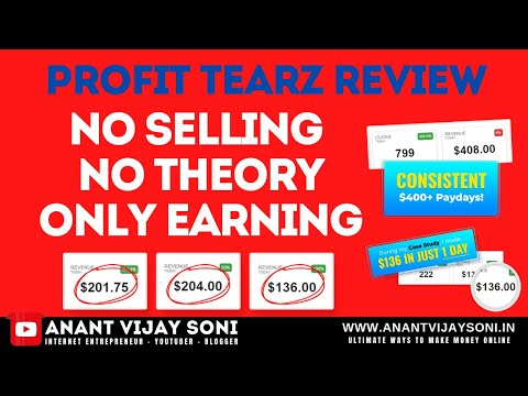 Profit Tearz Review In Hindi - No Selling No Theory Only Earning | CPL & CPA Offers