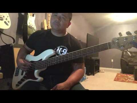 All Around- Israel Houghton (bass cover)