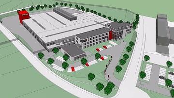 Neubau der ITH Firmenzentrale in Meschede