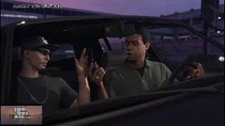 Grand Theft Auto V | GTA V Online Walkthrough #1 | DJAK47 Tha Hustler Meets Lamar