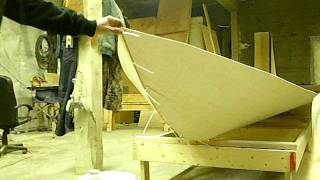 How to make the bottom of your hull on your Tolman Alaskan Skiff...in 30 seconds!!