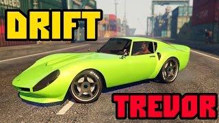 GTA V PC — DRIFT TREVOR (Rockstar Editor) (60FPS)