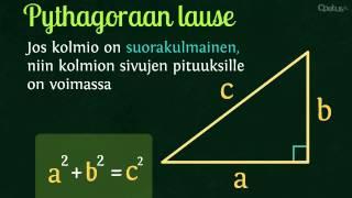 MAB2: Pythagoraan lause