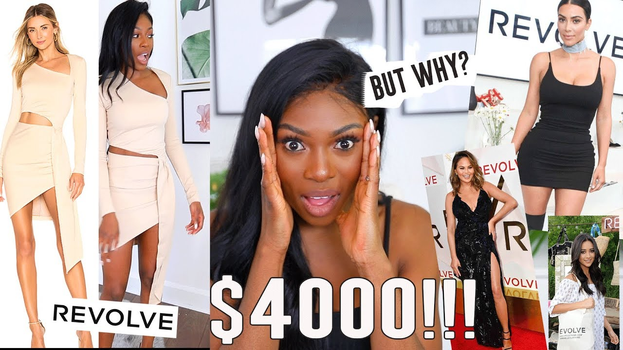 5bd97ba5cc3 I SPENT  4000 on REVOLVE CLOTHING INSTAGRAM BRAND GONE WILD...ARE WE  CONVINCED