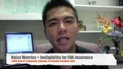 Video Blog  - FHA Loan Restrictions, September 2009