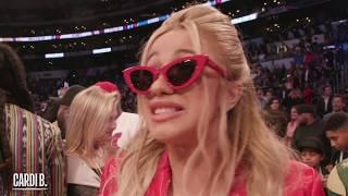 Cardi B, Chance tнe Rapper, Kevin Hart & Many More Celebrities Take In 2018 NBA All-Star!!!