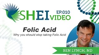 Why You Should Stop Taking Folic Acid