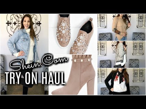 SHEIN.COM TRY ON HAUL | CASUAL & OFFICE WEAR