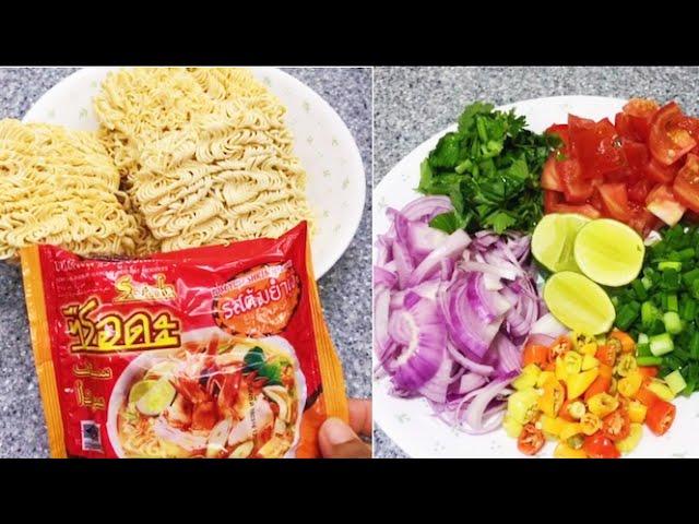 Resepi Kerabu Maggi Thai Yam Mama Youtube