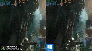 Comparativa con la capturadora de Nvidia y la de Windows 10 | Rise Of the Tomb Raider