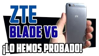 ZTE Blade V6, prueba en español
