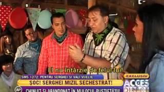 Serghei Mizil a trecut prin clipe de coşmar ( partea II )