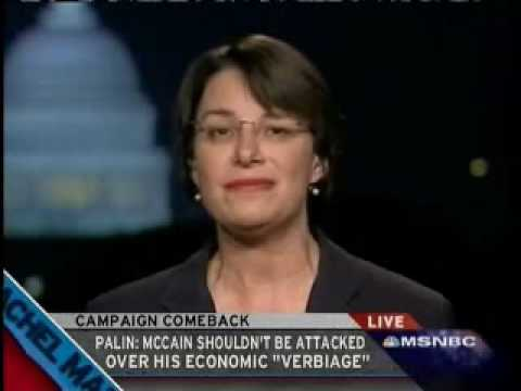 Rachel Maddow: Amy Klobuchar Interview Sept. 17, 2008