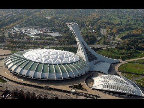 Olympic Stadium - Phantom 4 footage in Montreal - 4K