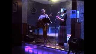 "Rachel Drew and Chris Corsale, ""Blue Bayou"" (cover) - at Silvie's 6/10/2013"