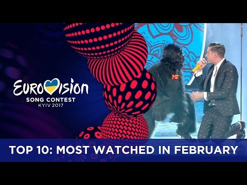 TOP 10: Most watched in February 2017 - Eurovision Song Contest