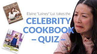 We put etalk's Lainey Lui to the ultimate test with Karon's Celebrity Cookbook Quiz