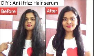 DIY Hair serum to remove frizzy hair | Starnaturalbeauties