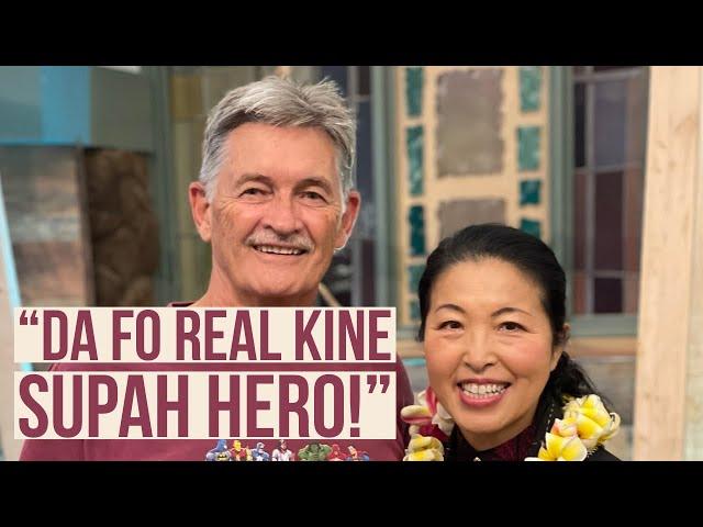 "Kaimuki Christian Church: Pastor Jay Jarman Reminds Us of who ""Da Fo Real Kine Supah Hero!"" Is."