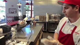 FoodTube.net, Burgers, FIve Guys Burgers, Fremont, CA